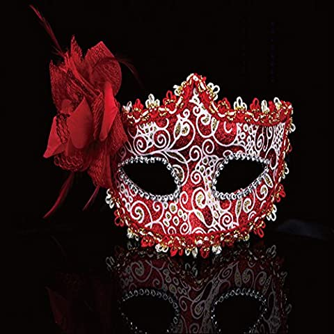 Costumes Masquerade Princesse - spritech (TM) côté Rose Fleurs Halloween Dance