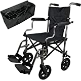 Best Wheelchairs - Super Lightweight Aluminium Folding Transit Wheelchair with Carry Review
