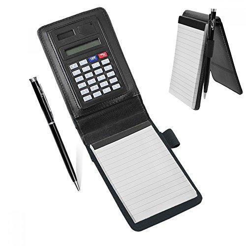 A7 PU Leder Notizbuch Notizblock Notebook Handlich klemmbrett Schreibmappe Konferenzmappe mit...