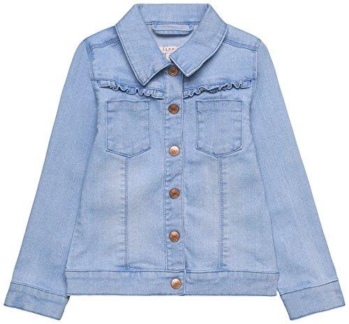 ESPRIT KIDS Mädchen RL4101303 Jacke, Blau (Bleached Denim 413), 116 (Herstellergröße: 116/122)