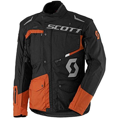 Scott Dual RAID DP Veste de moto Noir/Orange 2017, XL (52/54)