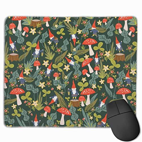 Woodland Gnomes Laptop Mouse Pads Mousepad Home Mats 9.8