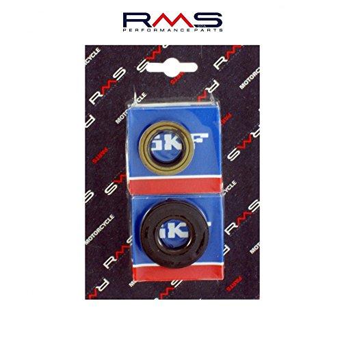 Kurbelwellenlager SKF inkl. Wellendichtringe für Minarelli 50ccm Motor (Aerox,SR50,CPI) RMS