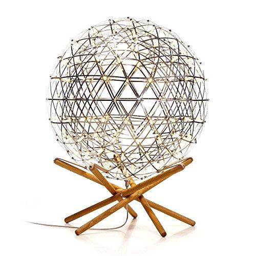 raimond-tensegrity-r61-led-lampe-a-poser-inox-pietement-en-chene-h-80cm-oe-61cm-creux-26cm-blanc-cha