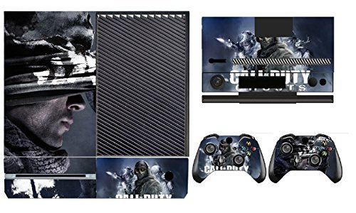 COD Ghosts 268 Skin Sticker Cover Decal Protector for XBOX ONE Console Kinect and 2 controller skins by Cool Colour