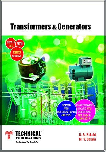 Transformers & Generators for VTU ( Sem-III EEE CBCS Scheme 2015 )
