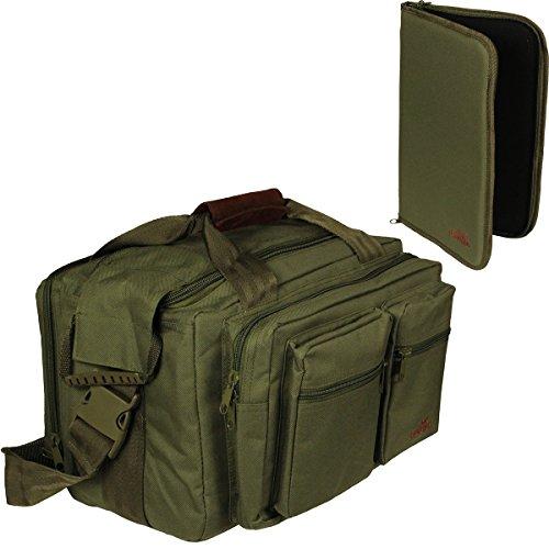 Waffentasche Pistolentasche Zubehörtasche Greenlands mit Futteral für Kurzwaffen grün 22312