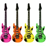 Hen and Stag Accessories - Set de 4 guitarras hinchables