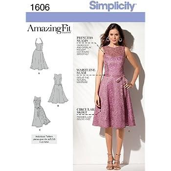 Simplicity Schnittmuster 1606 – Misses und Miss Petite Amazing Fit ...