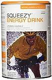 Squeezy Sports Nutrition Energy Drink, Orange, 500 g Dose, Pulver