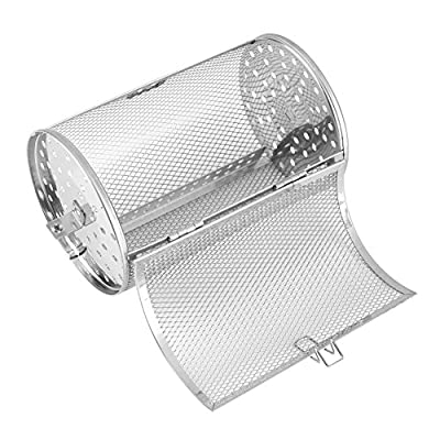 Stainless Steel Coffee Beans Roaster Peanut BBQ Grill Basket Oven Roast Baking Cage Kitchen Cooking Tool