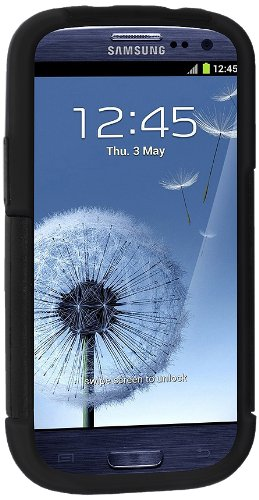 Amzer 95709 Hybrid Kickstand Case for Samsung Galaxy S3 Neo and S III GT-I9300 (Black)  available at amazon for Rs.559