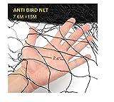 Damofy Schutznetz Teichnetz Laubnetz - Schützen Sie Pflanzen und Früchte - Fühlen Sie Sich frei, Größe zu Schneiden