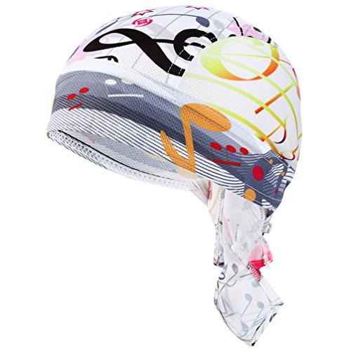 VBIGER Bandana Cap Sommermütze Bandana Kopftuch Atmungsaktive Fahrrad Kopfbedeckung -