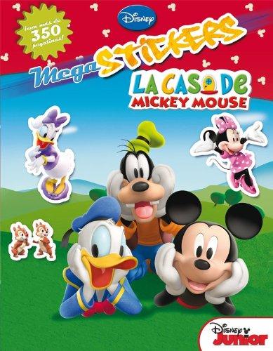 La Casa de Mickey Mouse. Megastickers