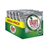 Fairy Platinum Spülmaschinen-Kapseln Zitrone–5 x 25 Stück (125 Stück)