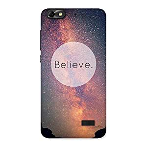 Neo World Believe Back Case Cover for Honor 4C