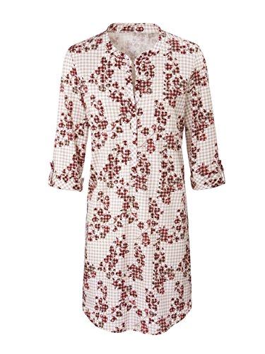 Calida Damen Nachthemd Natalie Ruby Wine