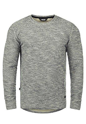 !Solid Gulliver Herren Sweatshirt Pullover Pulli Mit Rundhalsausschnitt Aus 100% Baumwolle, Größe:M, Farbe:Insignia Blue Melange (8991)