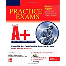 CompTIA A+ Certification Practice Exams (Exams 220-701 & 220-702) (Certification Press) 1st edition by Pyles, James, Pastore, Michael (2011) Paperback