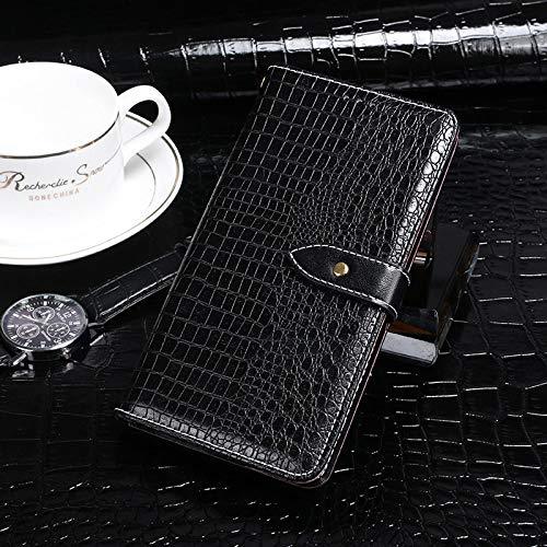 BELLA BEAR Case für Leagoo Z7,Leder Brieftasche Geldbörse Halterung Funktion Weichem PU Material Phone Case Cover for Leagoo Z7 Hülle(Schwarz)