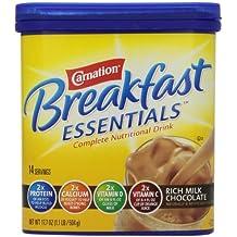 Carnation Instant Breakfast Powder, Rich Milk Chocolate, 17.7 oz by Carnation Breakfast Essentials