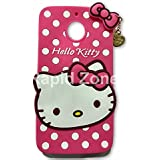 Rapid Zone Hello Kitty Back Cover For Motorola Moto G5S Plus - Pink