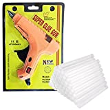 #5: Manbhari 40 W Hot Melt Glue Gun with Glue Sticks ,40 Pieces