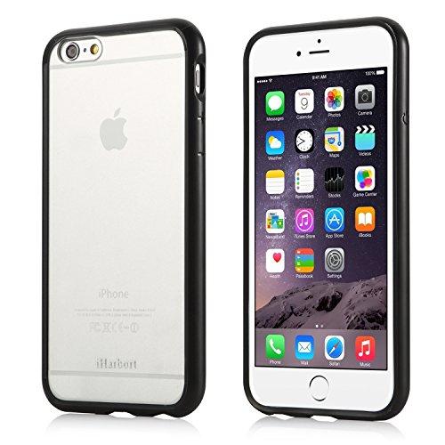 iPhone 6S Plus Coque - iHarbort® iPhone 6 Plus / iPhone 6S Plus case Soft Air pare-chocs couvrir avec chocs fonction pour l'iPhone 6 6S Plus 5.5 pouces (Noir) Noir