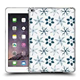 Head Case Designs Offizielle Ninola Sternblaetter Winter Botanisch 2 Soft Gel Hülle für iPad Air 2 (2014)