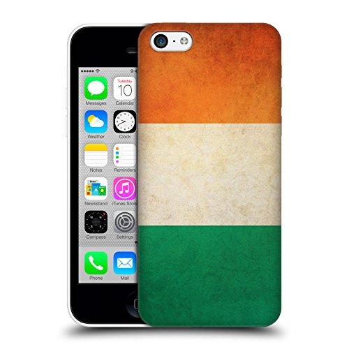 Head Case Designs Suède Suédoise Drapeaux Vintage Étui Coque D'Arrière Rigide Pour Apple iPhone 5 / 5s / SE Irlande Irlandais
