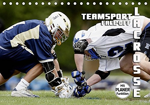 Teamsport Lacrosse - Face-off (Tischkalender 2019 DIN A5 quer): Packende Spielszenen aus der Welt des Lacrosse (Geburtstagskalender, 14 Seiten ) (CALVENDO Sport) (Postkarte La Crosse)