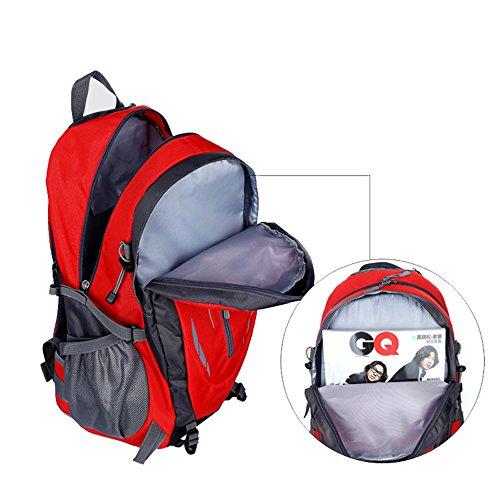 Joyousac Outdoor Bergsteigen Tasche Unisex Umh?ngetasche Sport Freizeit Reise Tasche Orange Red