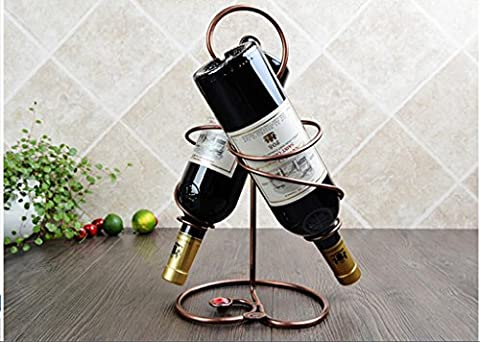 European wine rack, creative wine set, fashion wine