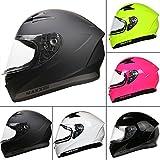 Leopard LEO-813 Full Face Motorbike Motorcycle Crash Helmet DOT & ECE 22.05 Approved