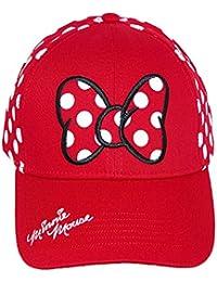 Disney - Casquette de Baseball - Femme rouge Red taille unique