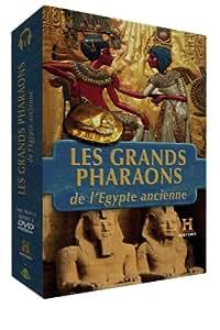 Coffret 4 DVD : Les Grands Pharaons d'Egypte