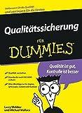 Qualitatssicherung Für Dummies - Larry Webber