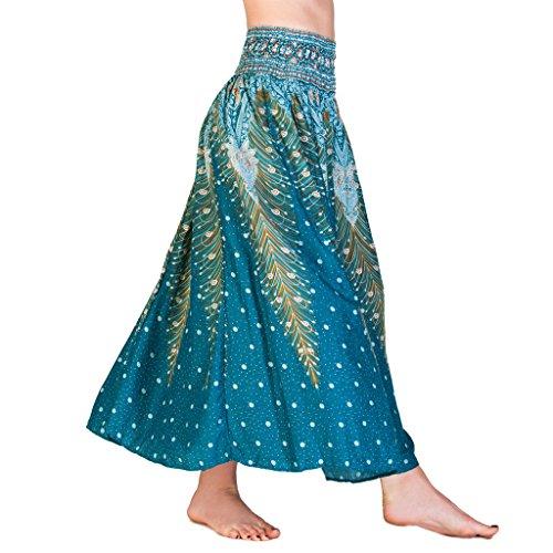 PANASIAM® Summerskirt, 100% Rayon, V04 in - Aladdin Kostüm Frauen