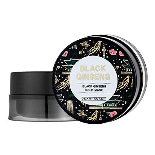 [DearPacker] Black Ginseng Gold Mask 100ml by Dearpacker