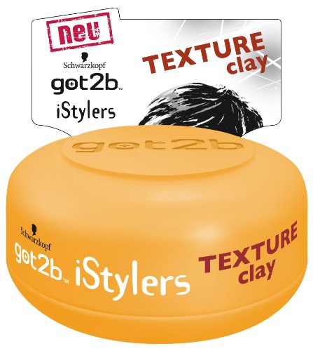 Price comparison product image Schwarzkopf Got2b iStylers Texture Clay, 75ml