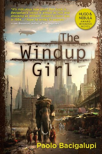 Book cover for The Windup Girl