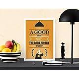 A Good Deed Makes The Dark World Brighter A4 digital kunst drucken mauer dekor poster Kunstdrucke