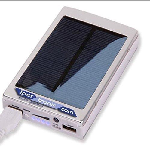 Ipertronic Solar Power Bank - Caricatore Solare - con...
