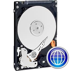 250 Go Western Digital Scorpio Blue 2,5 pouces IDE/PATA portable disque dur (5400 t/min 8 Mo de cache)