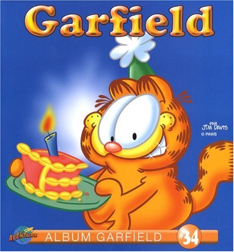 Garfield, Tome 34 :