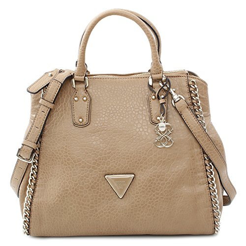 Guess Tasche - Ashbury Retro Satchel - Camel (Satchel Guess-handtaschen-top-zip)