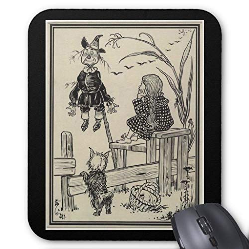 Mauspad, Motiv Zauberer von Oz, Dorothy und die Vogelscheuche 45,7 x 55,9 cm