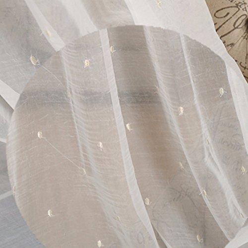 Tende lino ombra tende semplicemente monocromatico color,filato tenda,250 x 270 cm (w x h) x 2