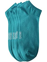 Weri Spezials Hommes Sneakers Chaussettes x3 Turquoise